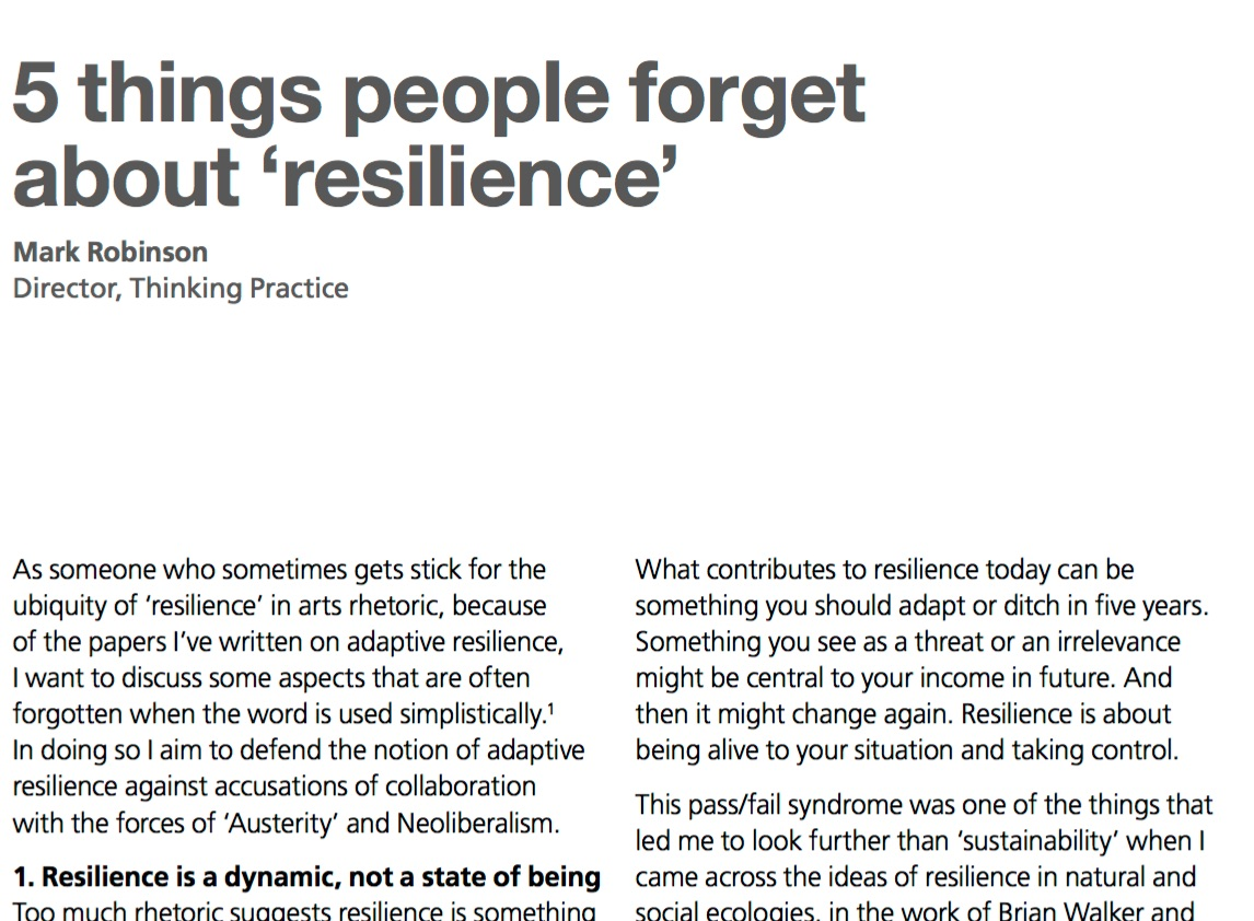 5thingsabout resilience